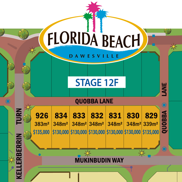 Florida Stage 12F Priced Map