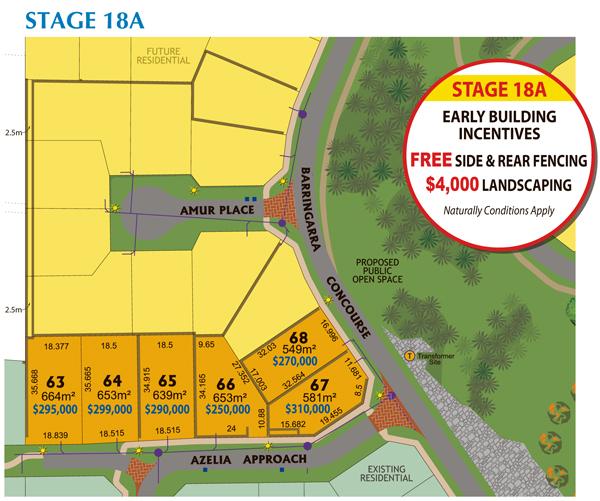 Madora Sales Plan 18A