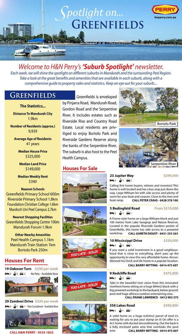 Spotlight on Greenfields