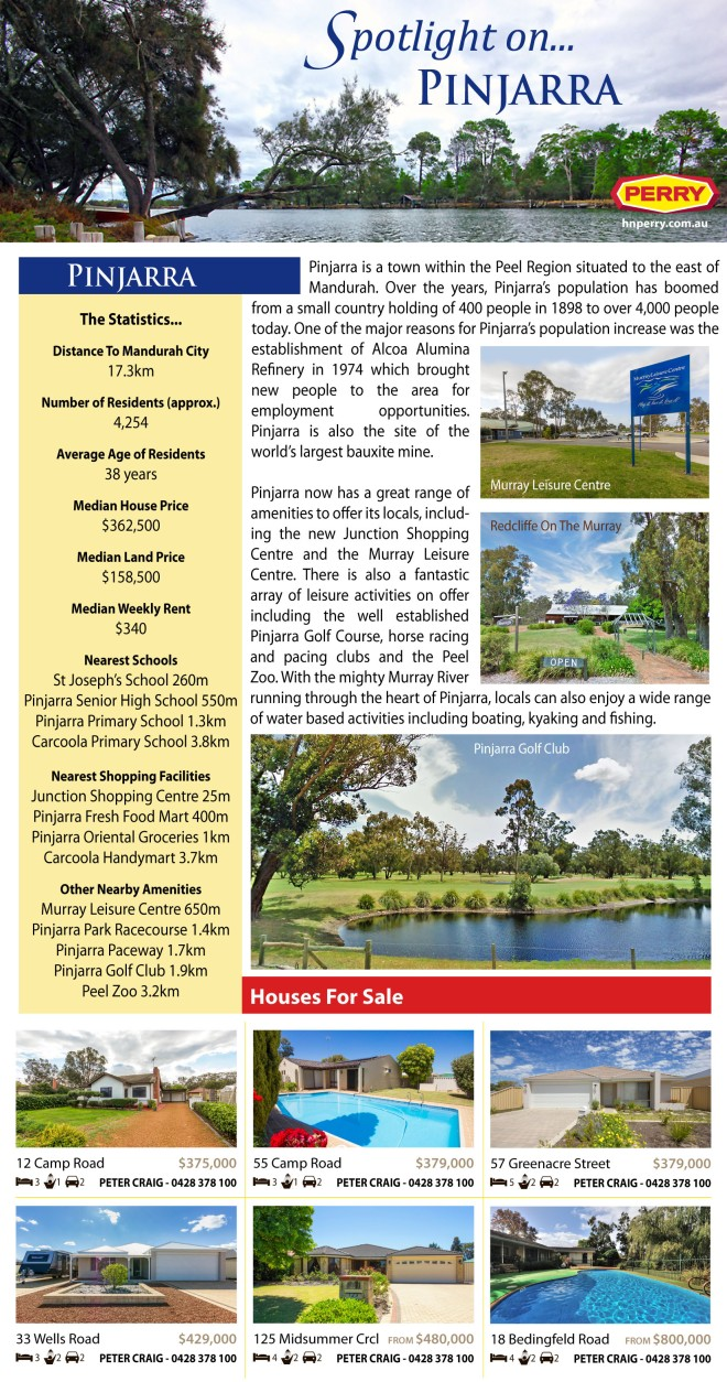 Spotlight on Pinjarra