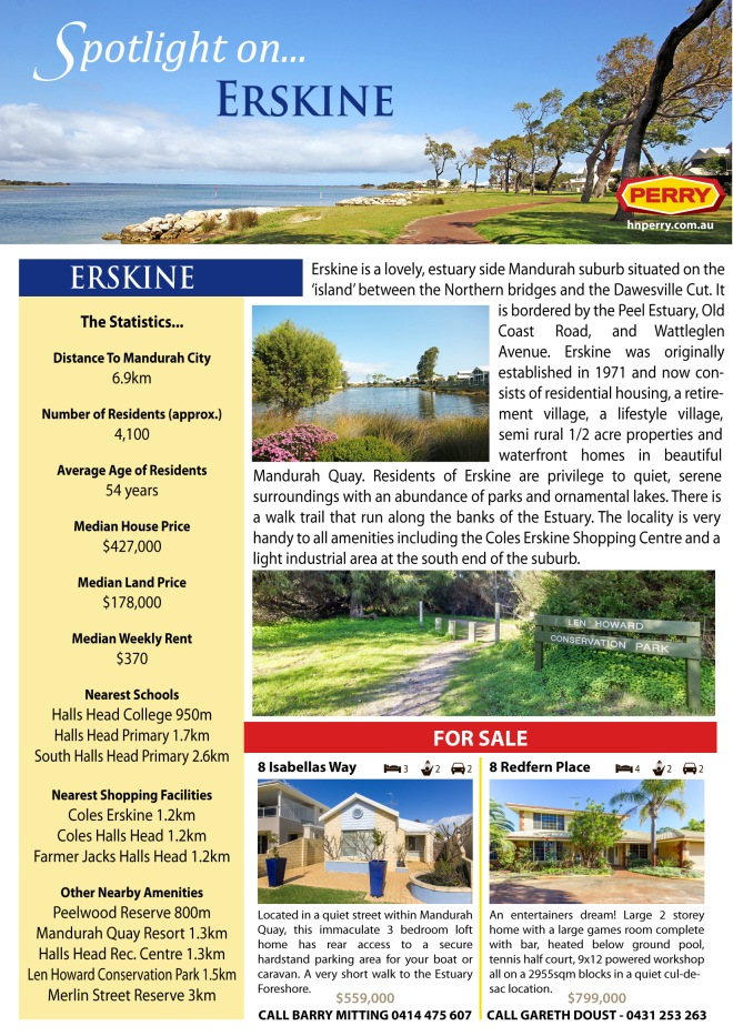 Spotlight on Erskine