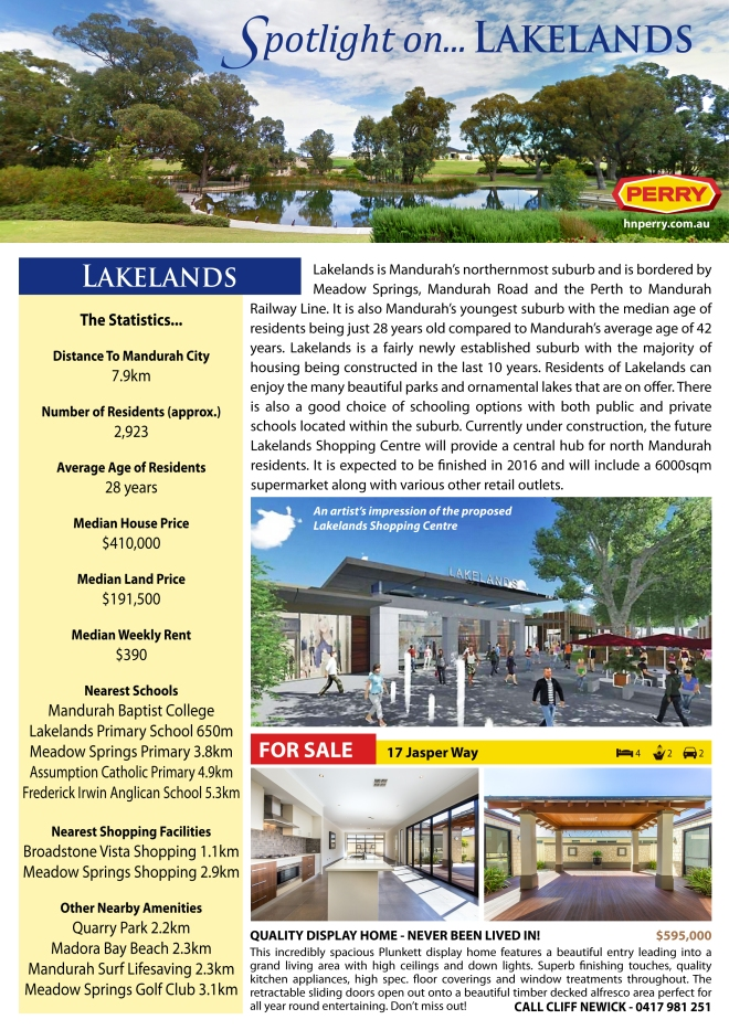 Spotlight on Lakelands
