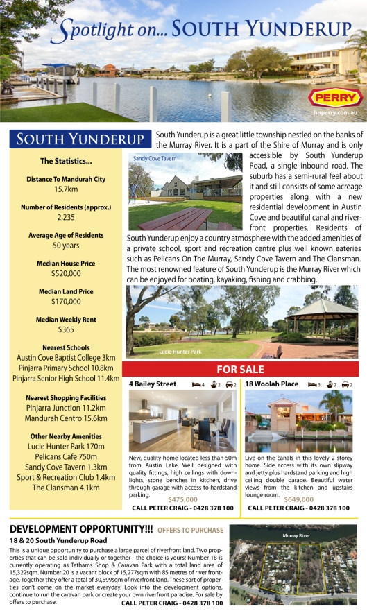 Spotlight on South Yunderup