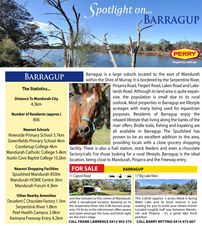 Spotlight on Barragup