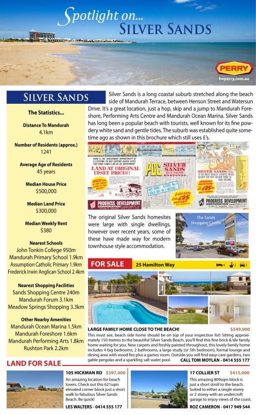 Spotlight on Silver Sands